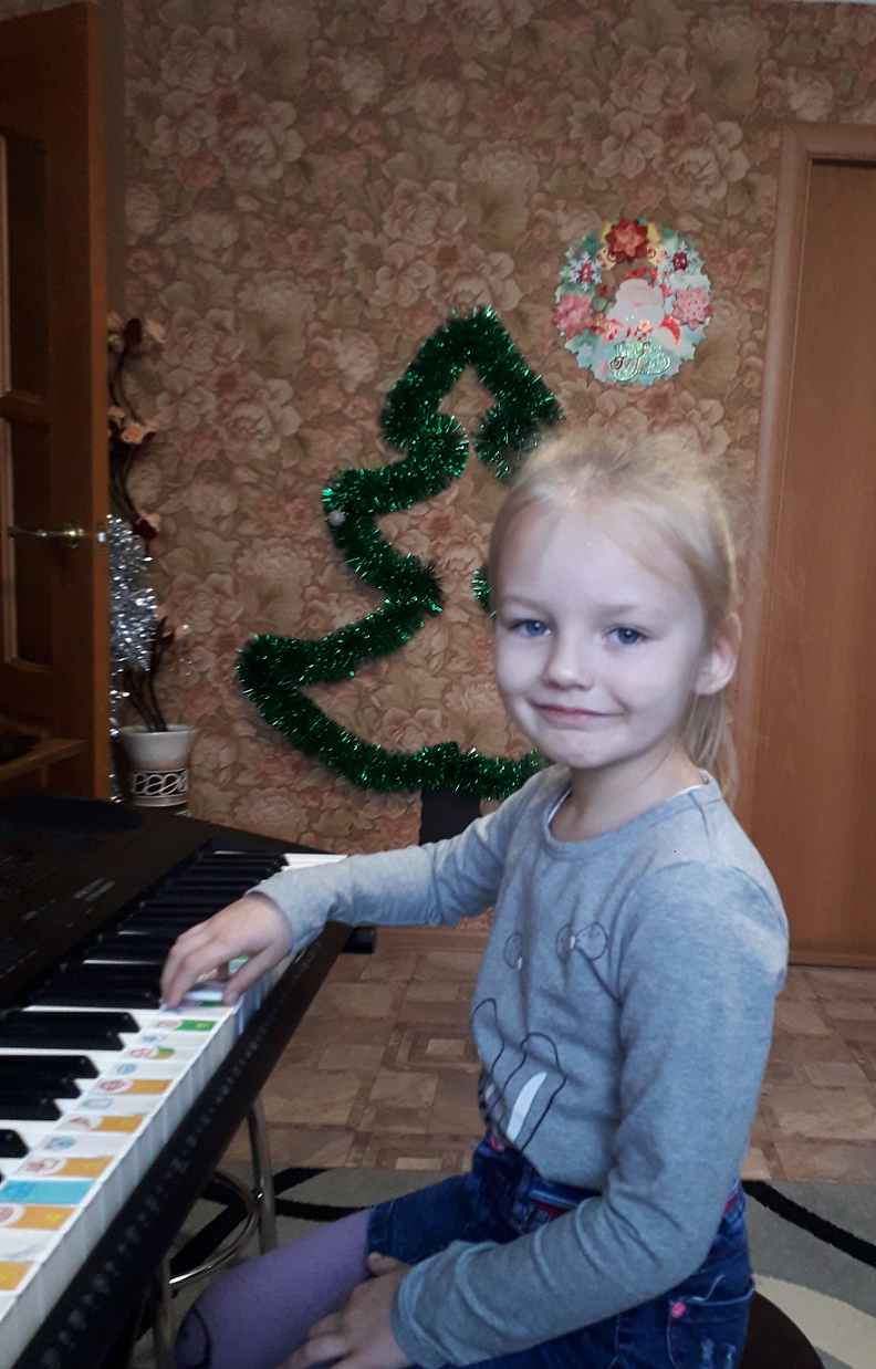 Маша Сюрина, 6 лет